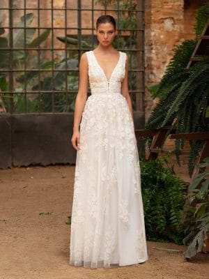 Zac Posen for White One - Ruth - Collezione Sposa 2020 - Davida Sposa e Cerimonia - Messina